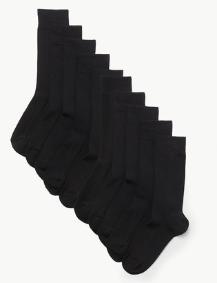 Marks and Spencer 10 Pack Cool & Fresh Cushioned Socks