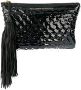 Ermanno Scervino textured clutch