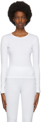 Gil Rodriguez White Bellevue Baby Fitted Long Sleeve T-Shirt