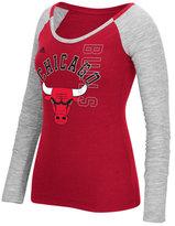 adidas Women's Chicago Bulls Liquid Dots T-Shirt
