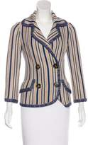 M Missoni Notch-Lapel Knit Blazer
