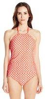 Athena Women's Coastal Geo One Piece Swimsuit