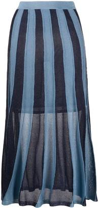 Sandro Paris Damon knitted skirt