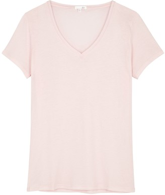 Skin Light Pink Pima Cotton Pyjama Top