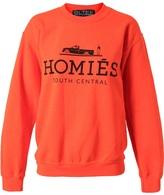 Brian Lichtenberg Unisex 'Homies' Cotton Sweatshirt