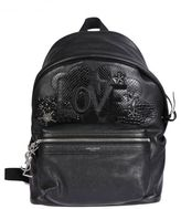 Saint Laurent Mini City Love Backpack