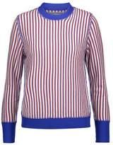 Raquel Allegra Striped Merino Wool And Cashmere-Blend Sweater