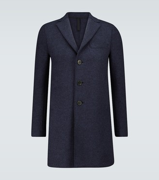 Harris Wharf London Single-breasted boiled wool coat