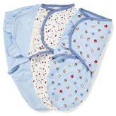 Summer Infant SwaddleMe® 3-Pack Small/Medium Original Swaddle Sports Swaddles in Blue
