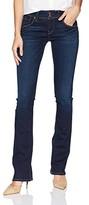 Hudson Jeans Women's Beth Mid-Rise Baby Bootcut Back Flap Pocket Jean