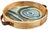 Thirstystone Round Agate Print Tray