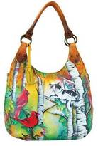 Anuschka Women's Large Shoulder Hobo