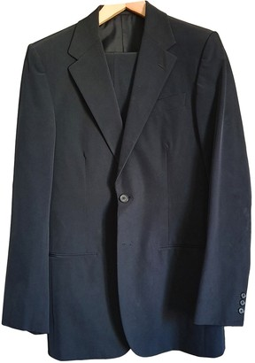 Prada Black Polyester Suits