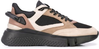 Buscemi Veloce panelled sneakers