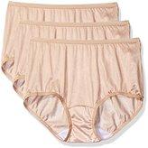 Shadowline Women's Panties - Nylon Modern Brief (3 Pack)
