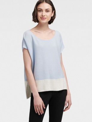 DKNY Colorblock Knit Pullover