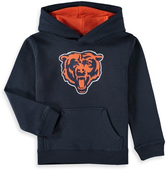 Outerstuff Preschool Navy Chicago Bears Fan Gear Prime Pullover Hoodie