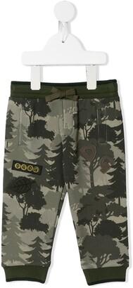 Dolce & Gabbana Kids Camouflage Pattern Jogging Trousers