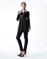 Eileen Fisher Easy A Merino Wool Long-Sleeve Tunic