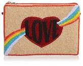 From St Xavier Beaded Lust Clutch