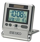 Seiko LCD Travel Alarm Clock.