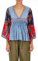 Ulla Johnson Women's Nadi Cotton-Linen Blouse