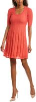 M Missoni Wool-Blend A-Line Dress
