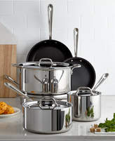 All-Clad Nonstick Stainless Steel 10-Piece Cookware Set