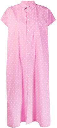 Balenciaga Printed Shirt Dress
