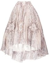 Lela Rose Printed Maxi Skirt