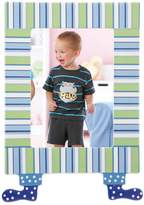 "Merry Go Round Little Boy Blue Striped 5"" x 7"" Frame"