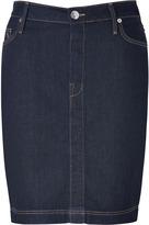 True Religion Midnight Blue Auburn Lonestar Pencil Skirt
