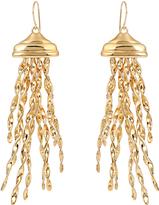 Aurelie Bidermann Theia gold-plated earrings