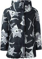 Herno floral high neck jacket