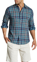 Faherty Long Sleeve Plaid Reversible Regular Fit Shirt