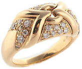Bvlgari Parentesi 18kt Yellow Gold 30 Diamond Ring Size 6.25