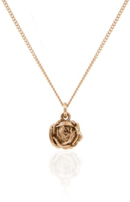 Lee Renee Rose Necklace Rose Gold