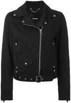 Diesel biker jacket - women - Cotton/Nylon/Viscose - S