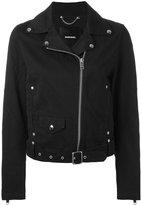 Diesel biker jacket - women - Cotton/Nylon/Viscose - S
