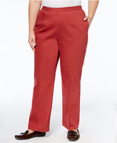 Alfred Dunner Plus Size Straight-Leg Pants
