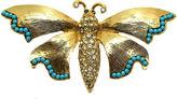 One Kings Lane Vintage Jeweled Butterfly Brooch