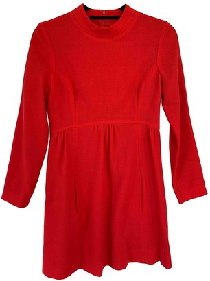 Goat Red Wool Dresses