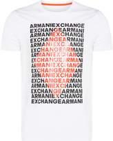Armani Exchange Diamond Logo Tshirt