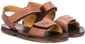 Pépé Logo Touch Strap Sandals