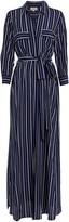 L'Agence Cameron Striped Shirt Dress