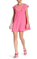 Cynthia Rowley CDC Bib Front Silk Dress