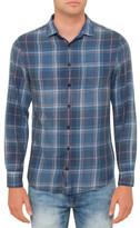 R & E RE: Blue Check Shirt