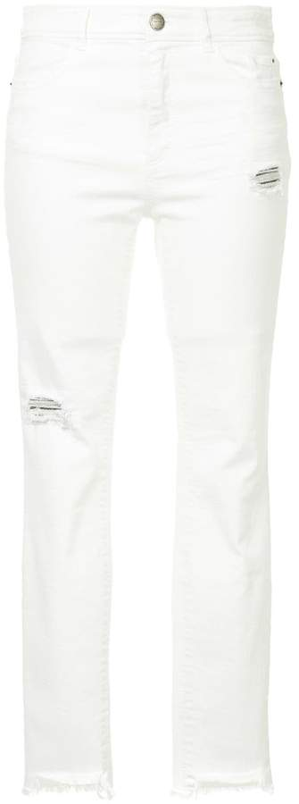 Marc Cain distressed jeans