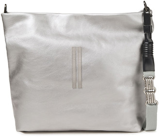 Rick Owens Metallic Textured-leather Shoulder Bag