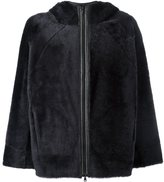 Brunello Cucinelli hooded boxy jacket